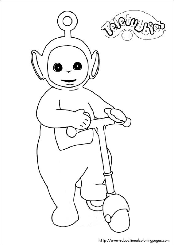 Teletubbies Printable Coloring Pages