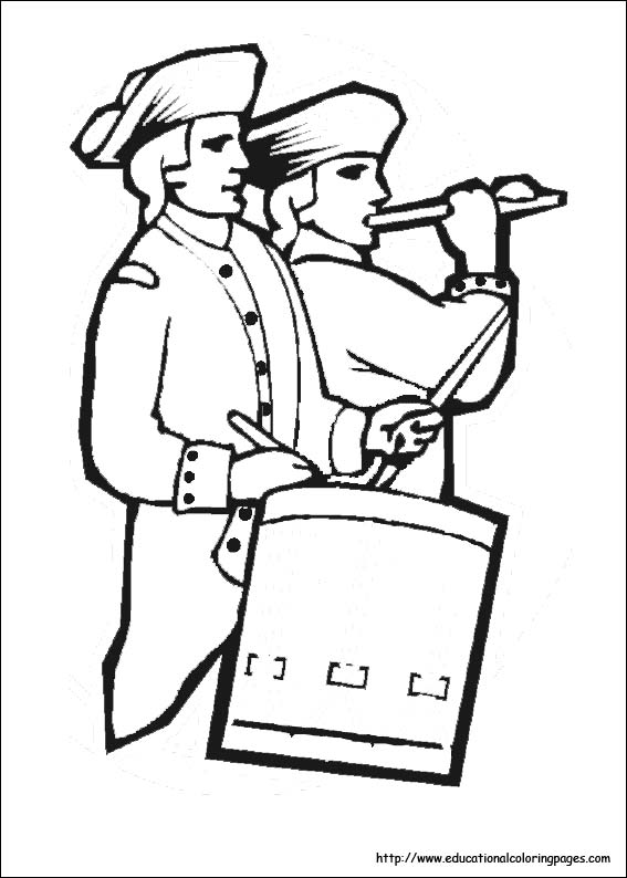 4th Of July Coloring Pages Educational Fun Kids Coloring