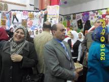توفيق الشتيحى فى معرض التعليم الفنى فى ادارة قويسنا2016