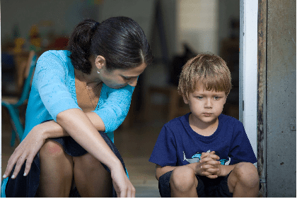 Telling your child what to do instead of what not to do
