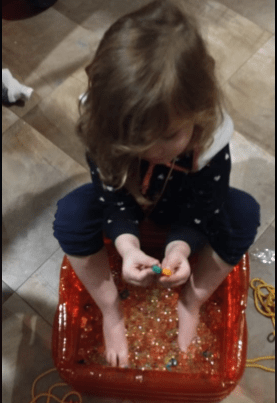 multisensory toy for teaching reading and math to kids
