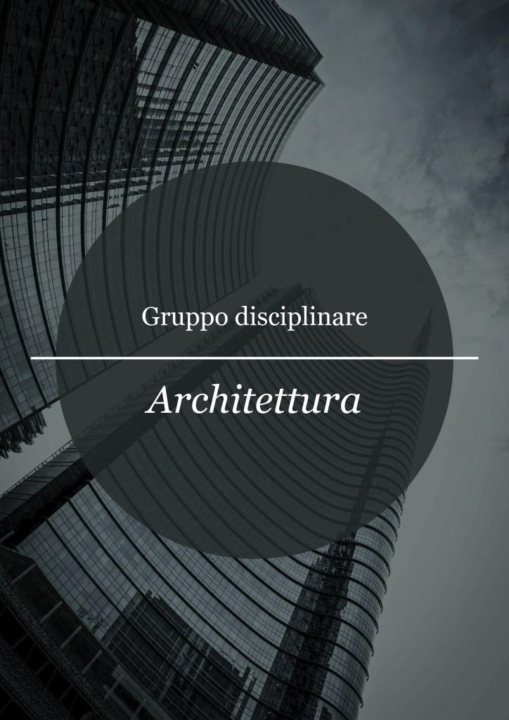 migliori università italia architettura design