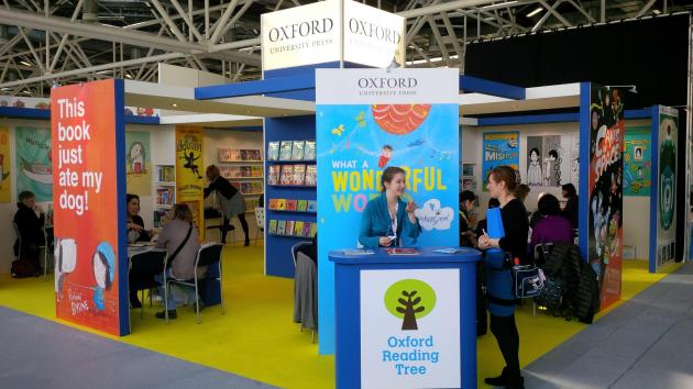 The Oxford Children's Books stand