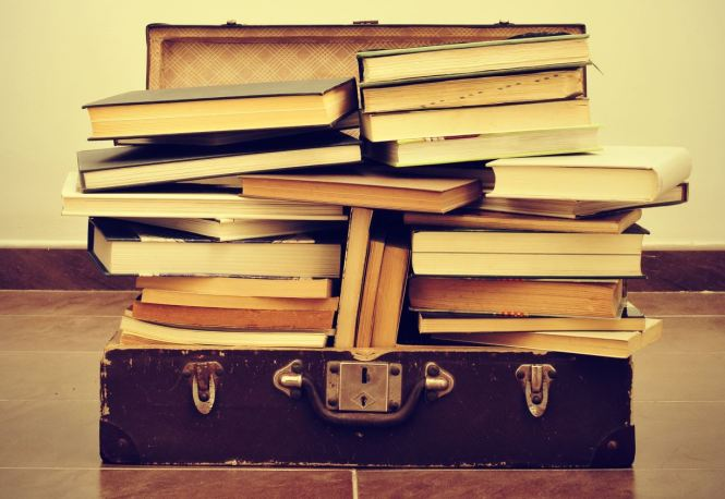 suitcase books