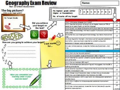 Exam review example
