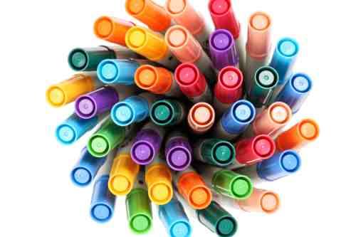 Marker pen swirl blog