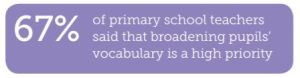 broadening pupil vocabulary statistics