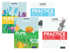 Inspire Maths Pupil Books