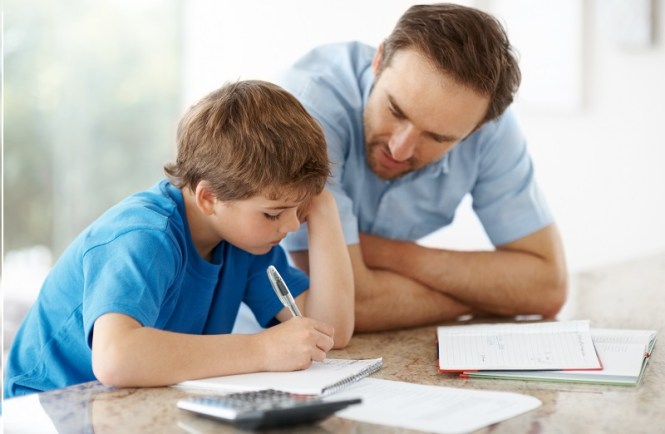 Homeschooling - Royalty-free Mother Stock Photo