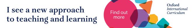 Oxford International curriculum