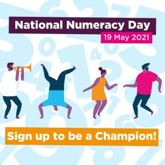 Sign up to be a National Numeracy Day Champion!