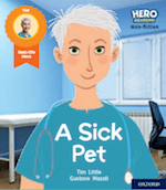Hero Academy Non-Fiction The Sick Pet cover