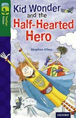 Kid Wonder and the Half-hearted Hero cover