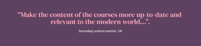 Is science education fit for the future? by Joe Temple