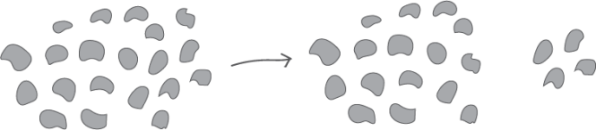 Illustration showing possible mathematical outcomes of NIM game
