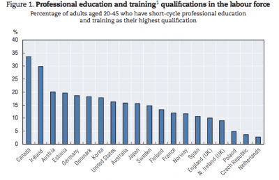 Source: OECD Skills Beyond School Synthesis Report Nov 2014. Click on the chart to see a larger version.