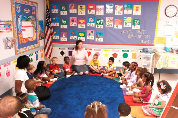 Kindergarten Teacher Classroom