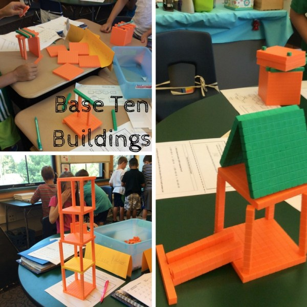 Building with Base Ten Blocks