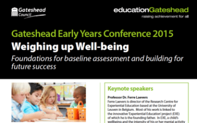 Gateshead Early Years Conference 2015 – Weighing up Well-being