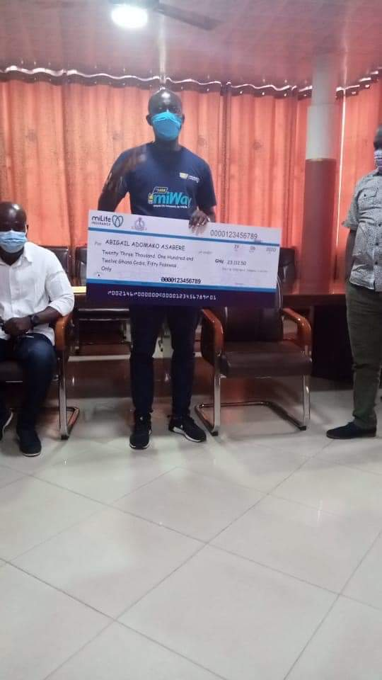 JUST IN: GNAT supports Female Teacher with Ghc23,112.50 Cashback Plan for her Permanent Disability 3