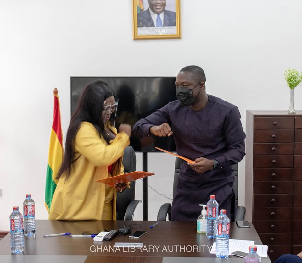 Ghana Library Authority unveils partnership with Stacy Amoateng 4