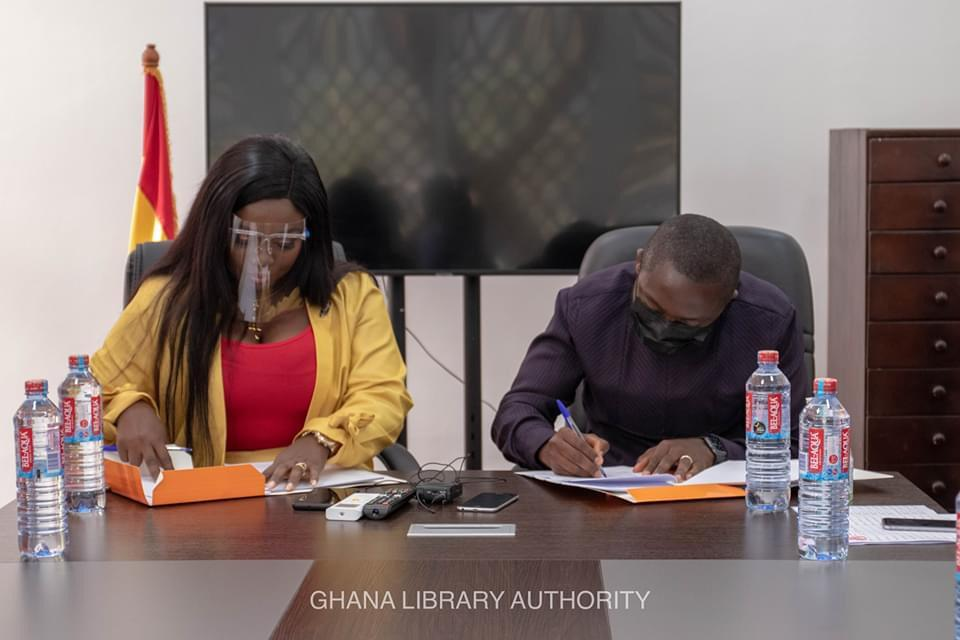 Ghana Library Authority unveils partnership with Stacy Amoateng 3