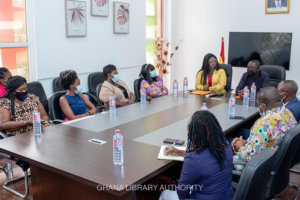 Ghana Library Authority unveils partnership with Stacy Amoateng 1