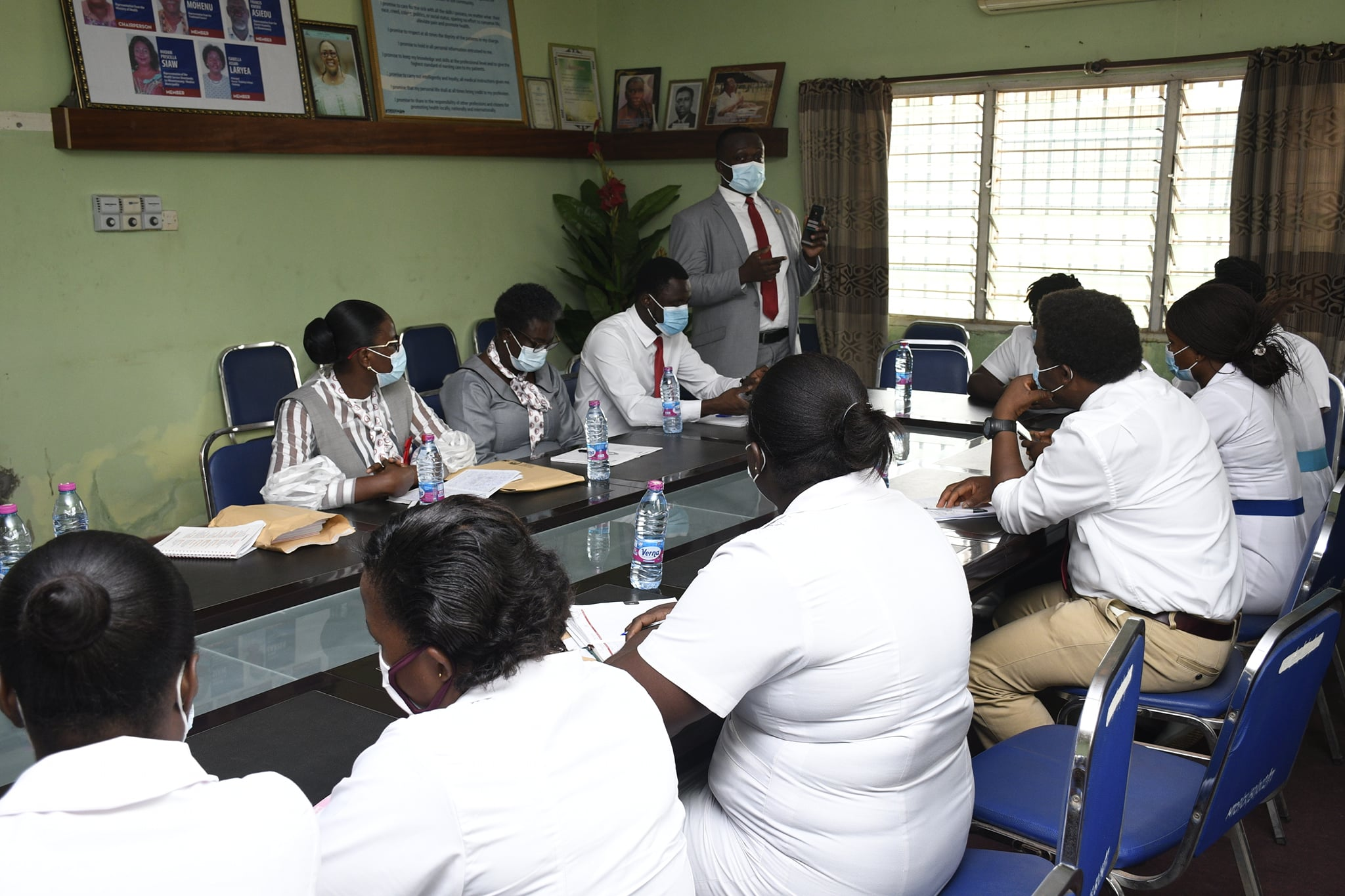 Nursing and Midwifery Council stages Sensitization Sessions for RMN Candidates 2