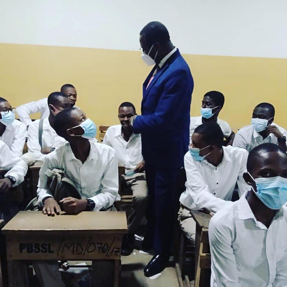 Adutwum teaches at PRESEC - Legon; says there is no food shortage   2