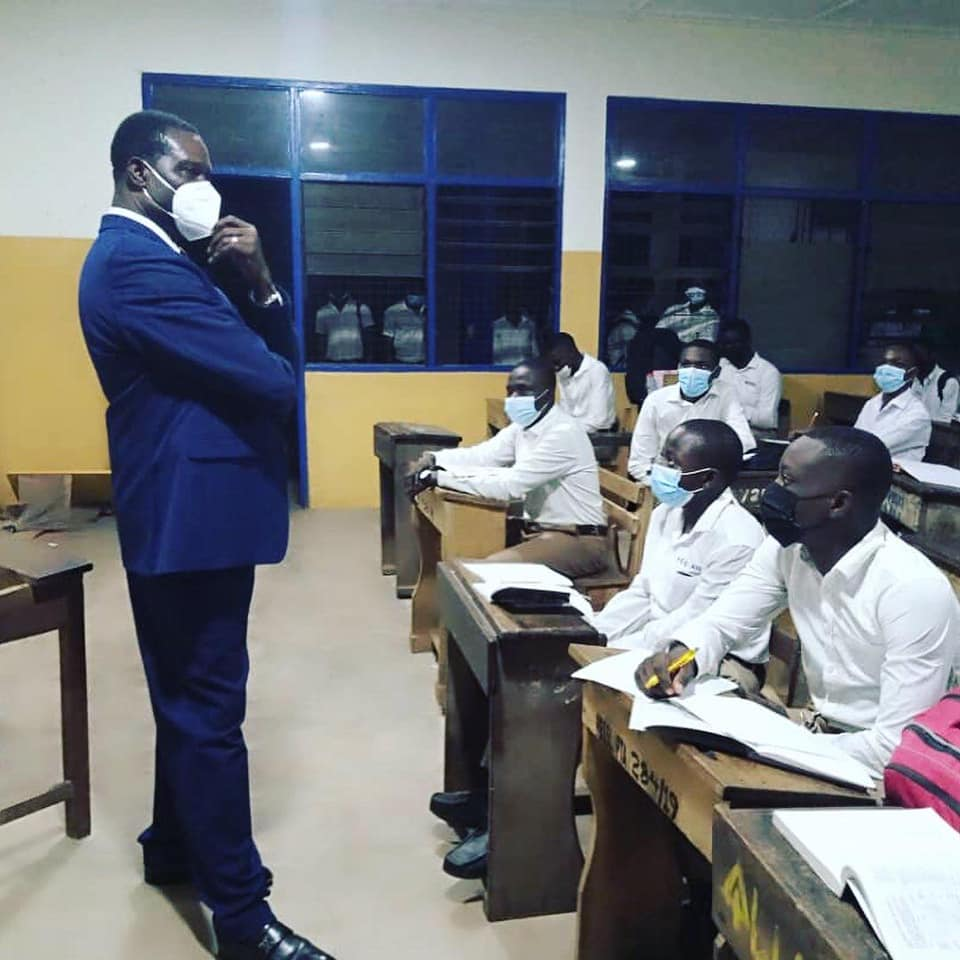 Adutwum teaches at PRESEC - Legon; says there is no food shortage   1