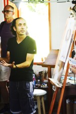 A conversation with artist Henry Alomá in his studio at Las Terrazas.