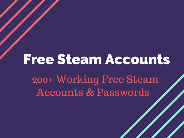 Free Steam Premium Accounts
