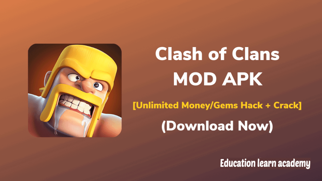 Clash Of Clans MOD APK V14.0.2 (Unlimited Troops) For Android
