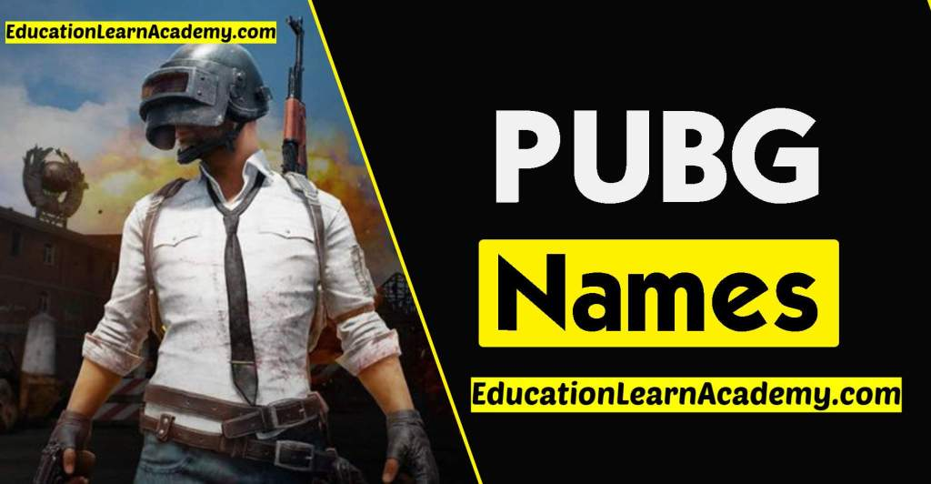 5000+ Best Cool, Funny PUBG Names [Profile, Clan & Crew]