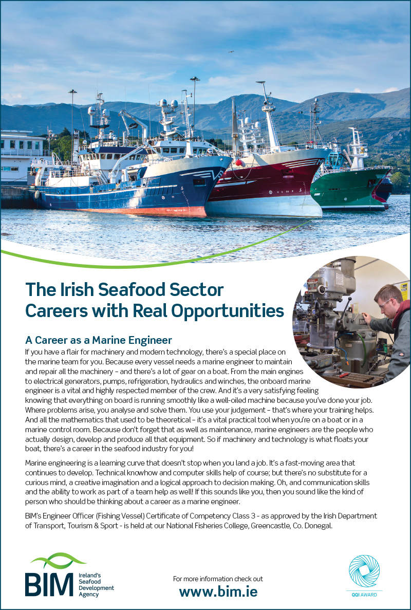 7572 BIM careers in seafood ad Education magazine full page.indd