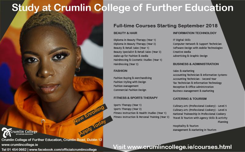 Crumlin College ad