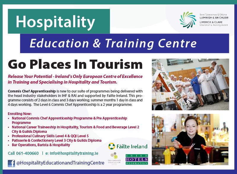 Hospitality Education & Training RG18.indd
