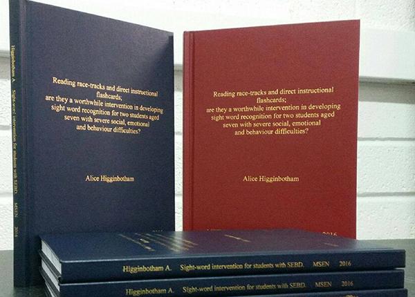 thesis binding drumcondra