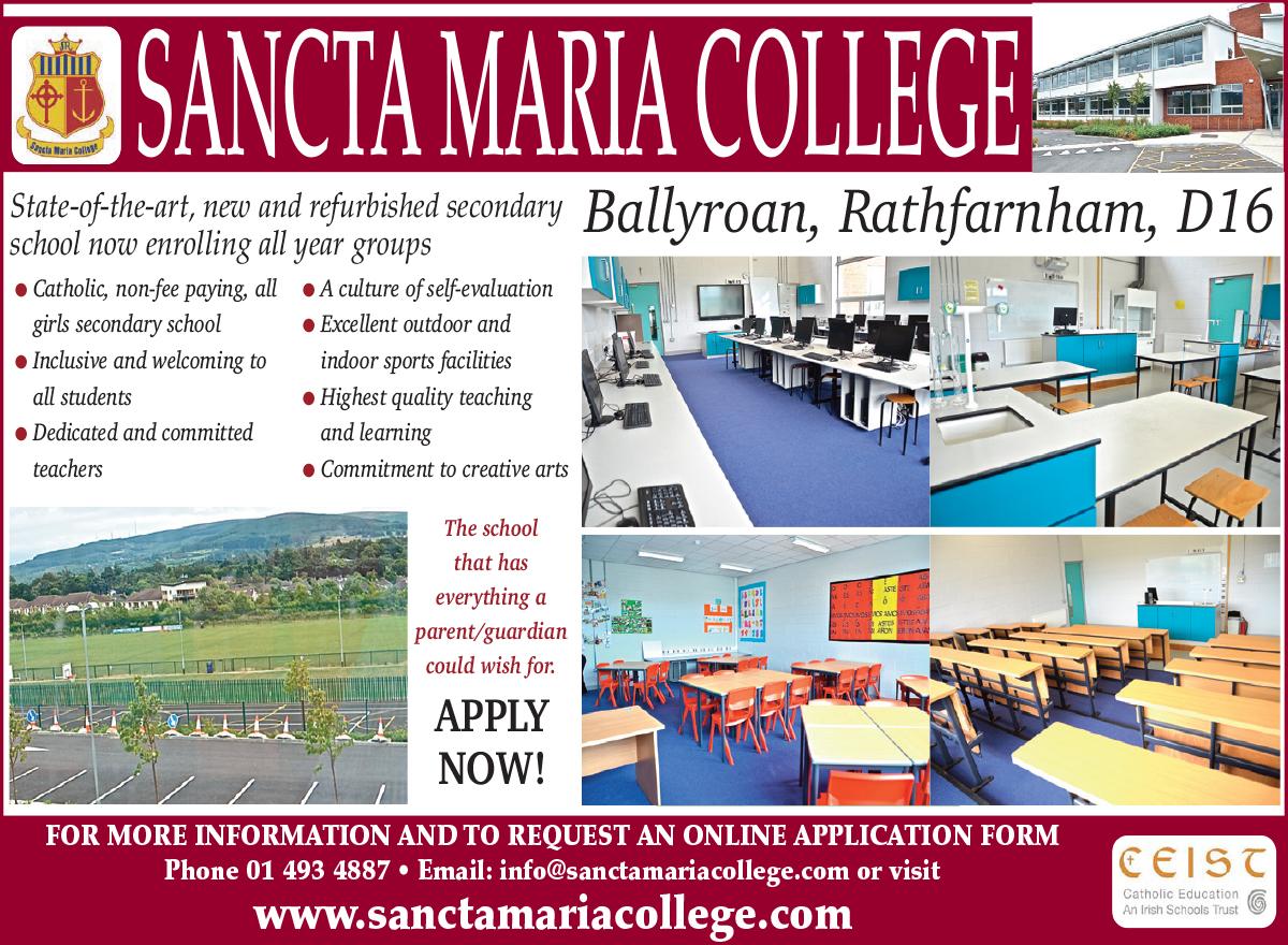 Sancta Maria College 32-2.indd