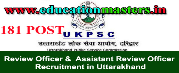 UKPSC-RO-ARO-recruitment-in