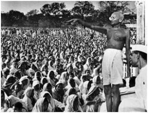Gandhi at champaran satyagrah -1917 bihar