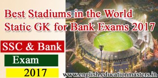 Best Stadiums in the World | Static GK for Bank Exams 2017