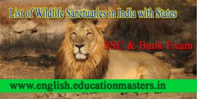 List of Wildlife Sanctuaries in India with States