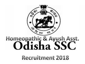 ossc Recruitment 2018