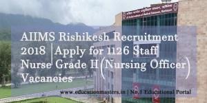 AIIMS-Rishikesh-Jobs-2018