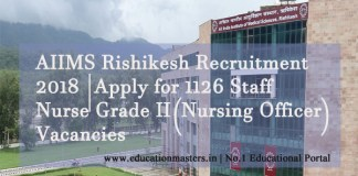 AIIMS-Rishikesh-Jobs-2018