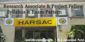 HARSAC-Syllabus-2018
