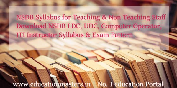 NSDB-Syllabus-2018