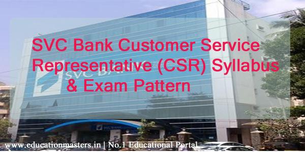 SVC-CSR-syllabus