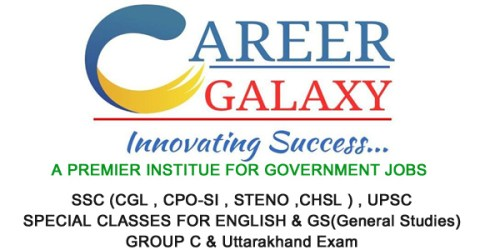 CAREER GALAXY coaching institute in dehradun